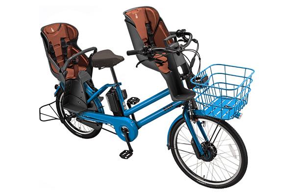3人乗り用チャイルドシート付きbikke GRI ddの商品画像